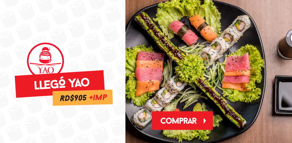 LLEGOyao  -  Restaurantes YAO Asian Cuisine